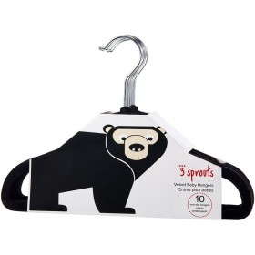 3 Sprouts non-slip hangers BEAR