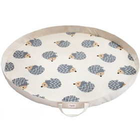 3 Sprouts play mat bag hedgehog