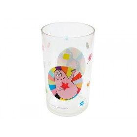 Clear tumbler Barbapapa by Petit Jour