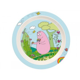 Kids plate Barbapapa by Petit Jour