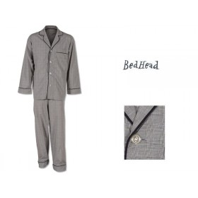 BedHead Pyjama Gray Glen Plaid