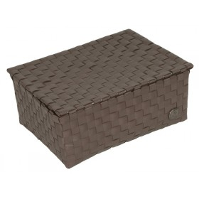 Small box with flaptop in darktaupe by Handed By
