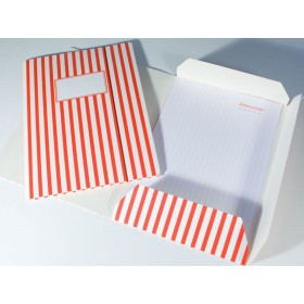 Folder map with red and white stripes by krima & isa