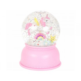 A Little Lovely Company snowglobe lamp UNICORN