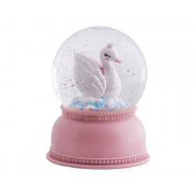 A Little Lovely Company snowglobe lamp SWAN