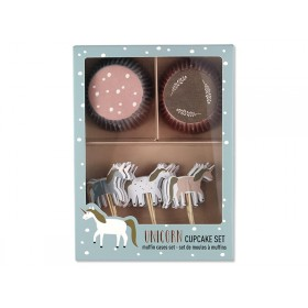 Ava & Yves Cupcake Set UNICORN
