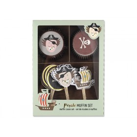 Ava & Yves Cupcake Set PIRATE