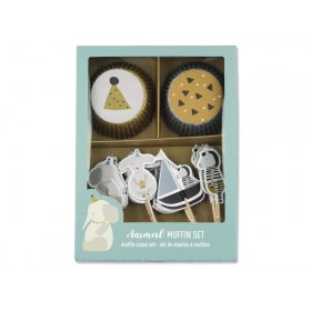 Ava & Yves Cupcake Set ANIMALS