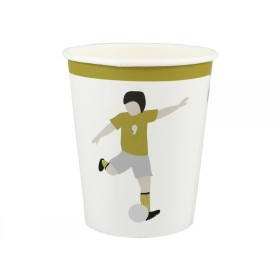 Ava & Yves Paper Cups FOOTBALL
