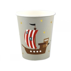 Ava & Yves Paper Cups PIRATE