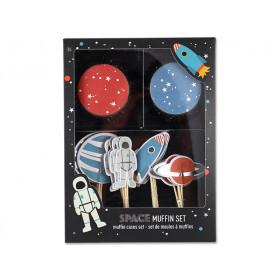 Ava & Yves Cupcake Set SPACE