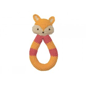 Babylonia crochet rattle FOX