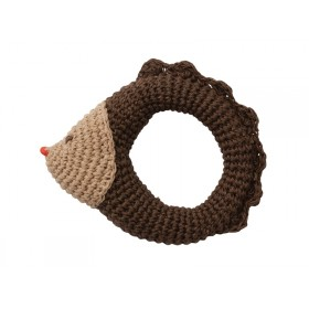 Babylonia crochet rattle HEDGEHOG