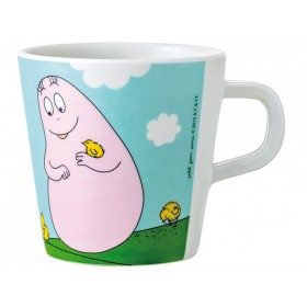 Barbapapa melamine handle cup garden