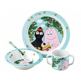 Barbapapa tableware set garden