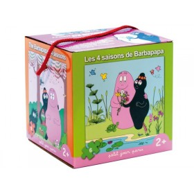 Barbapapa puzzle set
