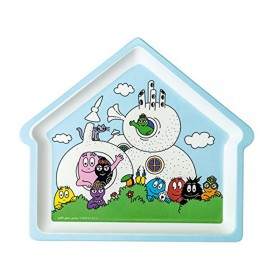 Barbapapa plate house