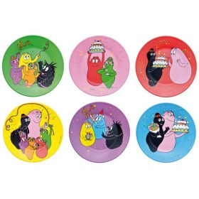 Barbapapa side plate gift box