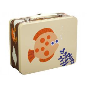 Blafre Metal Lunchbox SEA CREATURES