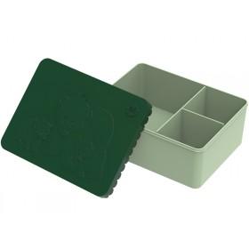 Blafre lunchbox bears dark green