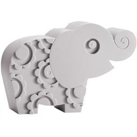 Blafre lunchbox elephant grey