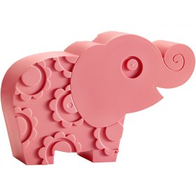 Blafre lunchbox elephant pink