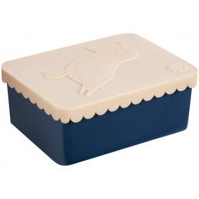 Blafre lunchbox puffin peach small