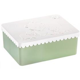 Blafre lunchbox bears white green
