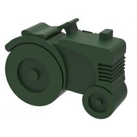 Blafre lunchbox tractor dark green