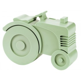 Blafre lunchbox tractor light green