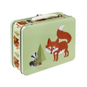 Blafre metal lunchbox fox