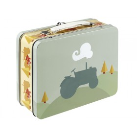 Blafre metal lunchbox tractor