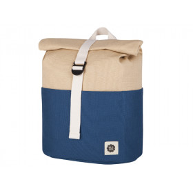 Blafre Backpack ROLLTOP navy blue / beige 3-7 years