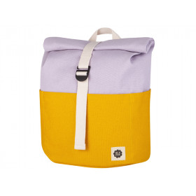 Blafre Backpack ROLLTOP yellow / lilac 3-7 years