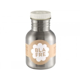 Blafre steel bottle small white