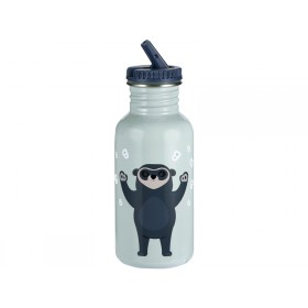 Blafre steel bottle BEAR BLUE