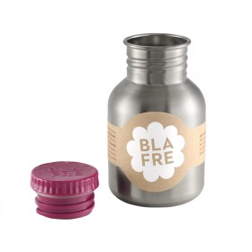 Blafre steel bottle small plum red