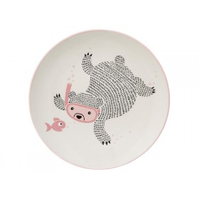 Bloomingville Ceramic Plate Ellie
