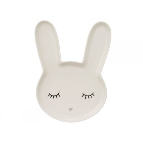 Bloomingville Ceramic Plate Smilla Rabbit