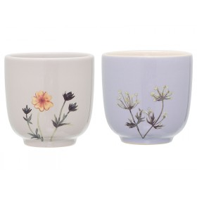 Bloomingville Ceramic Cups Flora
