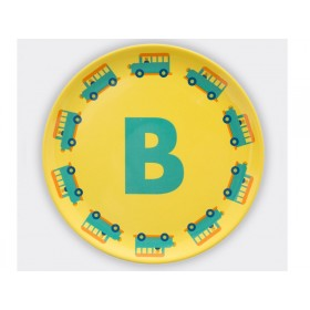 byGraziela ABC melamine side plate - B