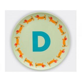 byGraziela ABC melamine side plate - D