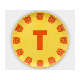 byGraziela ABC melamine side plate - T