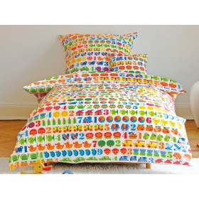 1,2,3 kids bedding set from byGraziela