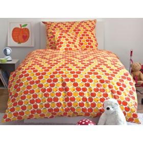 Apple bedding set in orange from byGraziela