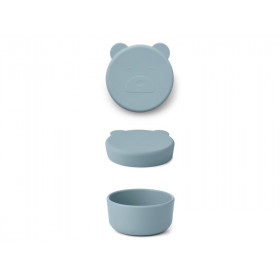 LIEWOOD Snack Box CARRIE sea blue