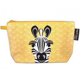 Coq en Pâte Toiletry Bag ZEBRA