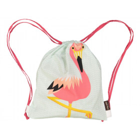 Coq en Pâte Drawstring Bag FLAMINGO