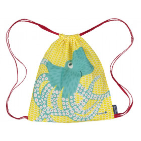 Coq en Pâte Drawstring Bag OCTOPUS