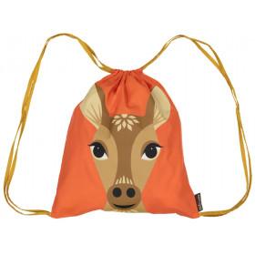 Coq en Pâte Drawstring Bag FAWN